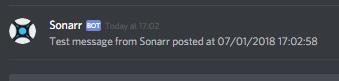 Sonarr-sucess